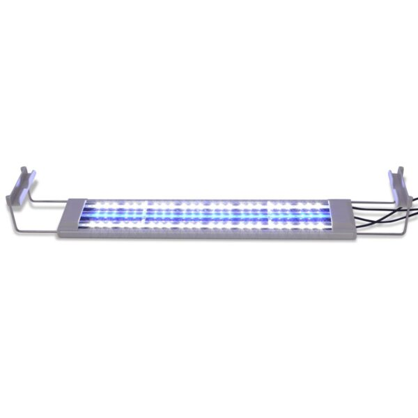Akvarielampa LED 50-60 cm aluminium IP67