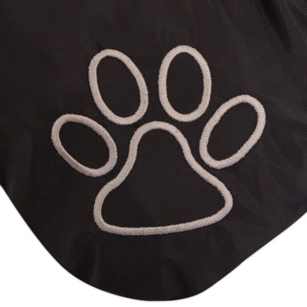 Hundbädd storlek XL svart
