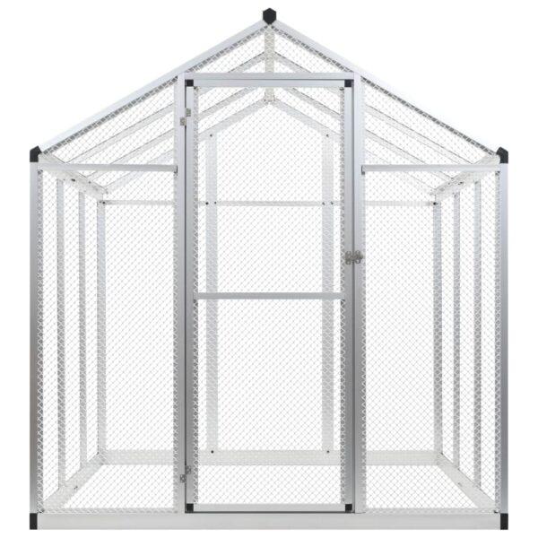 Utevoljär i aluminium 183x178x194 cm