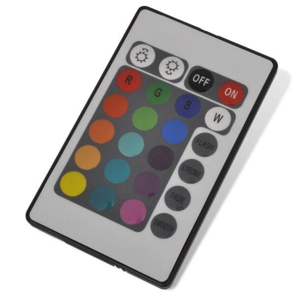 Akvarielampa med RGB LED och bubblor 48 cm