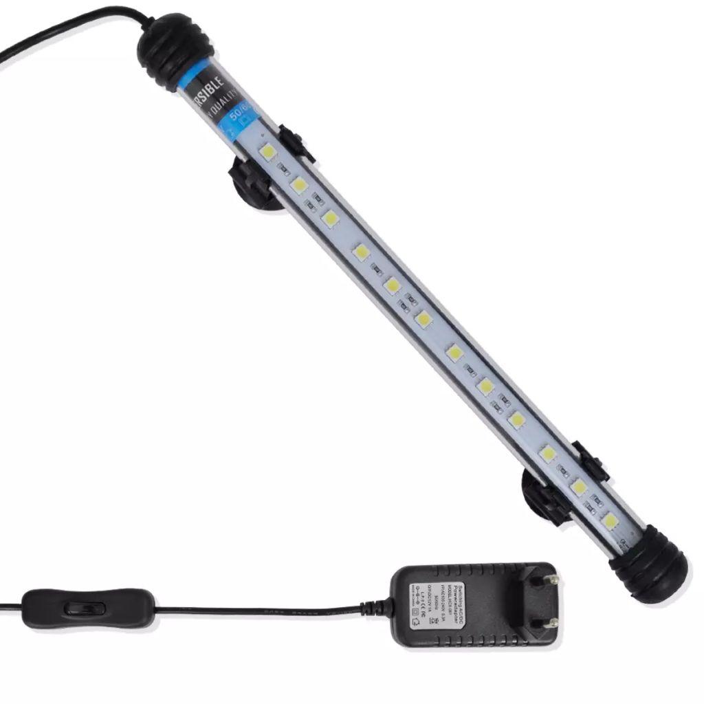 Akvariumlampa LED 28 cm vit