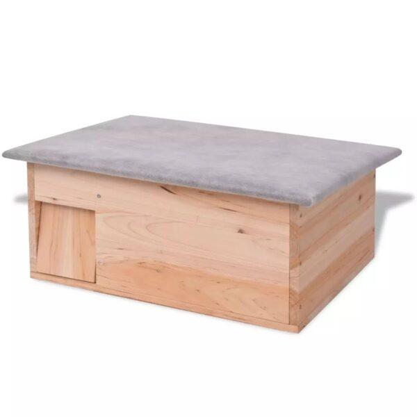 Igelkottshus 45 x 33 x 22 cm trä