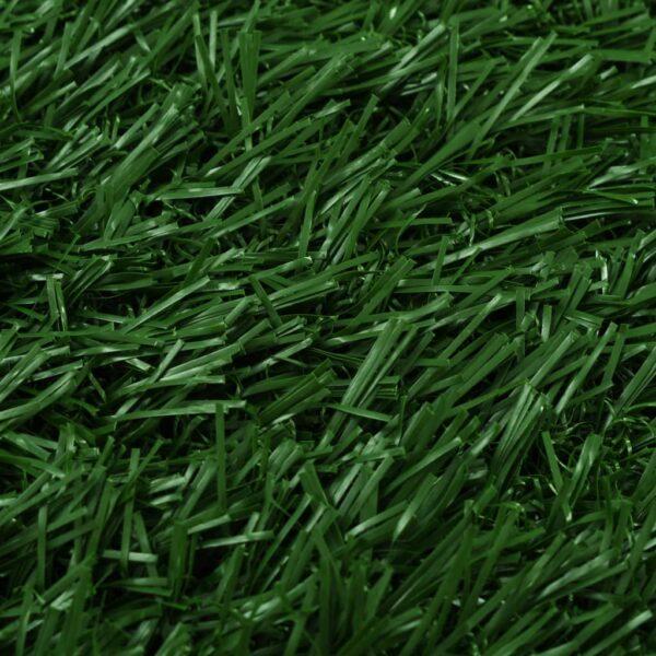 Djurtoalett med tråg och konstgräs grön 64x51x3 cm WC